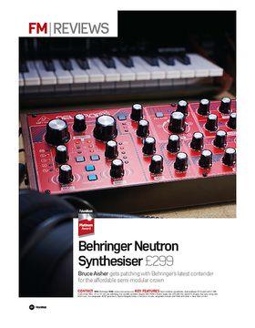 Behringer Neutron Synthesiser