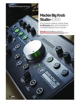 Mackie Big Knob Studio+
