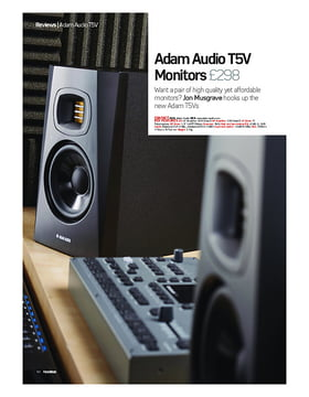 Adam Audio T5V Monitors