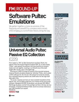 Universal Audio Pultec Passive EQ Collection