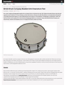 British Drum Company Bluebird 14x6 Snaredrum