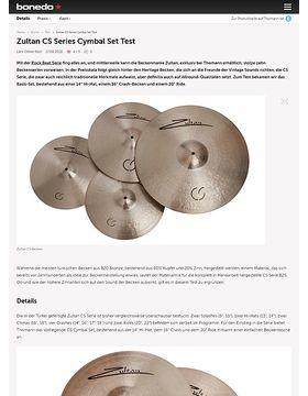 Zultan CS Series Cymbal Set