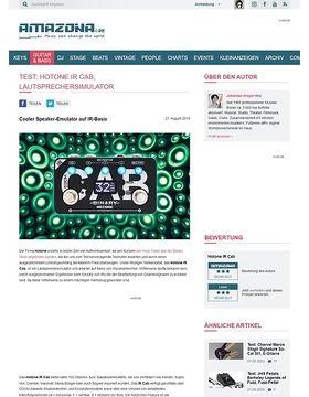 Hotone IR Cab