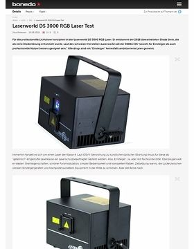 Laserworld DS 3000 RGB Laser