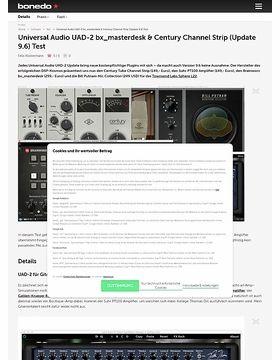 Universal Audio UAD-2 bx_masterdesk & Century Channel Strip (Update 9.6)