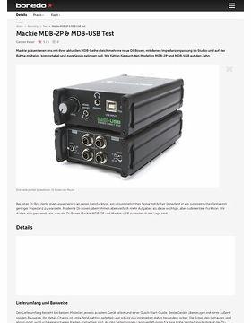Mackie MDB-2P & MDB-USB