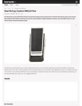 Real McCoy Custom RMC10