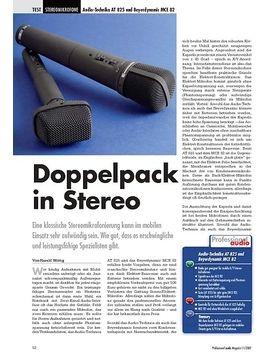 Doppelpack in Stereo Audio-Technika AT 825 und Beyerdynamic MCE 82