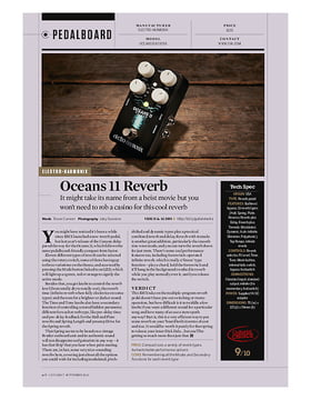 Oceans 11 Reverb
