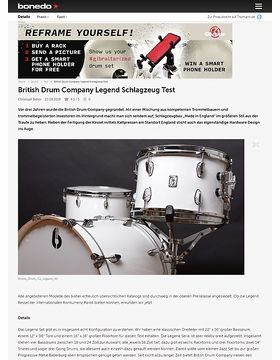 British Drum Company Legend Schlagzeug