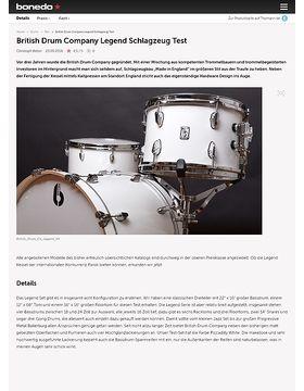 British Drum Company Legend Schlagzeug