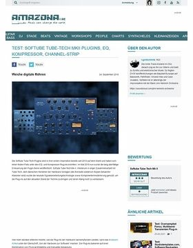 Softube Tube-Tech MKII Plugins