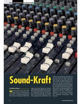 Sound-Kraft: Soundcraft FX16ii