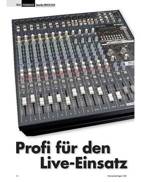 Profi für den Yamaha Live-Einsatz EMX5016CF