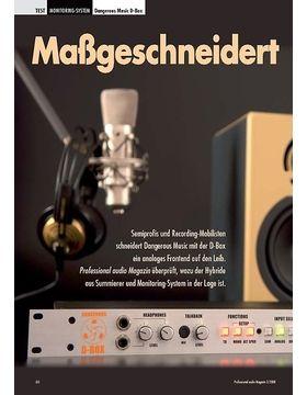 Maßgeschneidert Dangerous Music D-Box