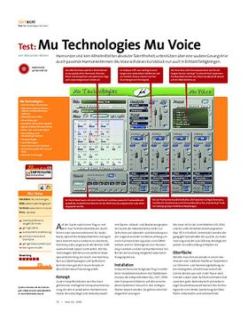 Test: Mu Technologies Mu Voice