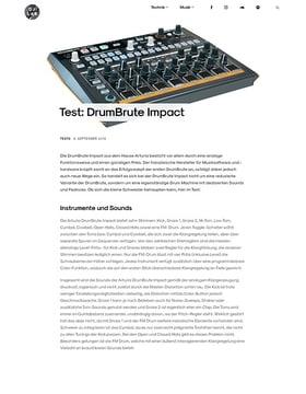 Test: DrumBrute Impact