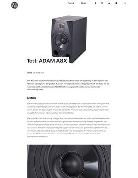 ADAM A8X
