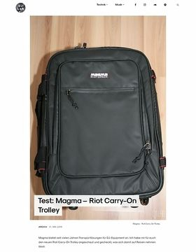 Magma – Riot Carry-On Trolley
