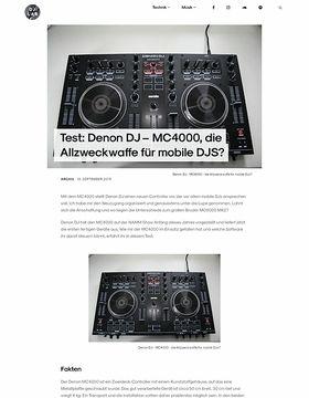 Denon DJ – MC4000