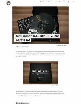 Denon DJ – DS1