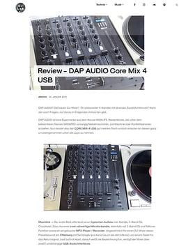 DAP AUDIO Core Mix 4 USB
