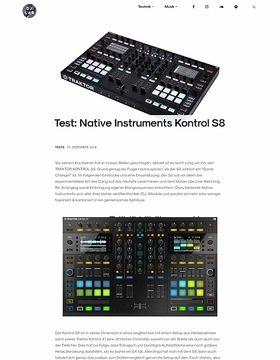 Native Instruments Kontrol S8