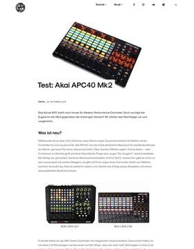 Akai APC40 Mk2