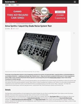 Erica Synths / Liquid Sky Dada Noise System