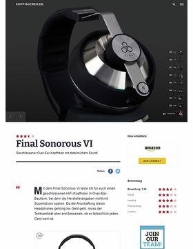 Final Sonorous VI