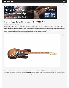 Fender Player Series Stratocaster HSH PF TBS