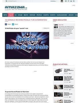 10 geniale Reverb-Pedale für Gitarristen