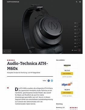Audio-Technica ATH-M60 X