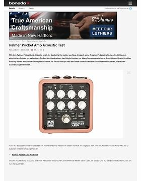 Palmer Pocket Amp Acoustic