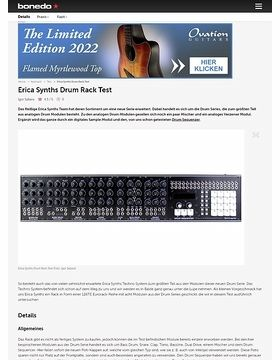 Erica Synths Drum Rack