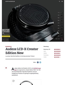 Audeze LCD-X Creator Edition New