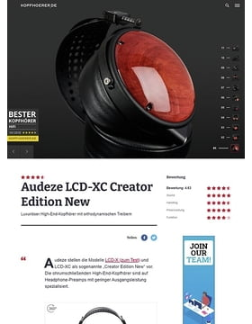 Audeze LCD-XC Creator Edition New