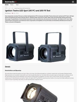 Ignition Teatro LED Spot 100 PC und 100 FR