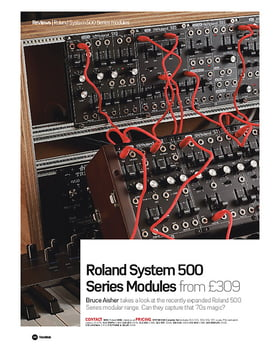 Roland System 500 Series Modules