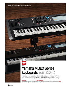 Yamaha MODX Series keyboards