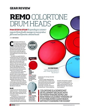 Remo ColorTone Drum Heads