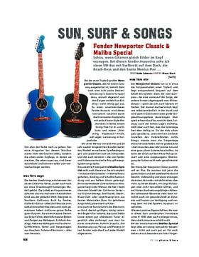 Fender Newporter Classic & Malibu Special