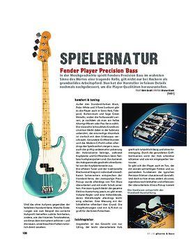 Fender Player Precision Bass,
