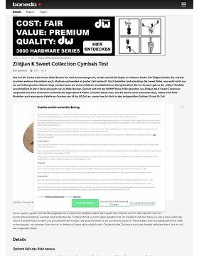Zildjian K Sweet Collection Cymbals