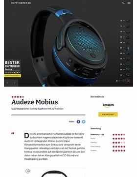 Audeze Mobius Blue