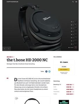 the t.bone HD 2000 NC
