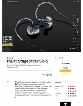 InEar StageDiver SD-5