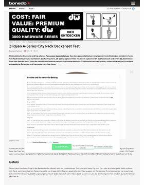 Zildjian A-Series City Pack Beckenset