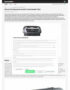 Denon Professional Audio Commander