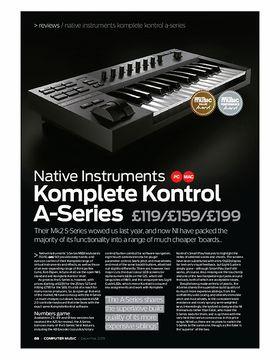 Native Instruments Komplete Kontrol A-Series